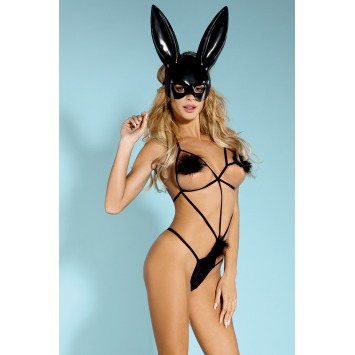 "Bodysuit ""Naughty Play"" – Schwarz"
