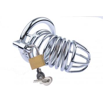 Peniskäfig mit Metallringen 8 cm