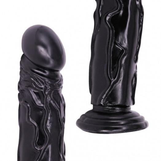 Dildo 35 cm  – Schwarz