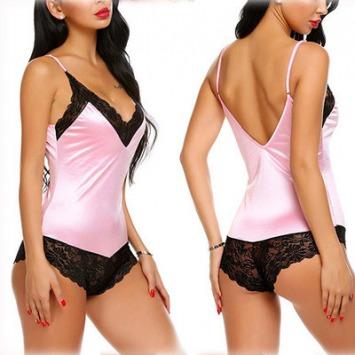 "Nachthemdchen ""Sexy"" – Rosa"